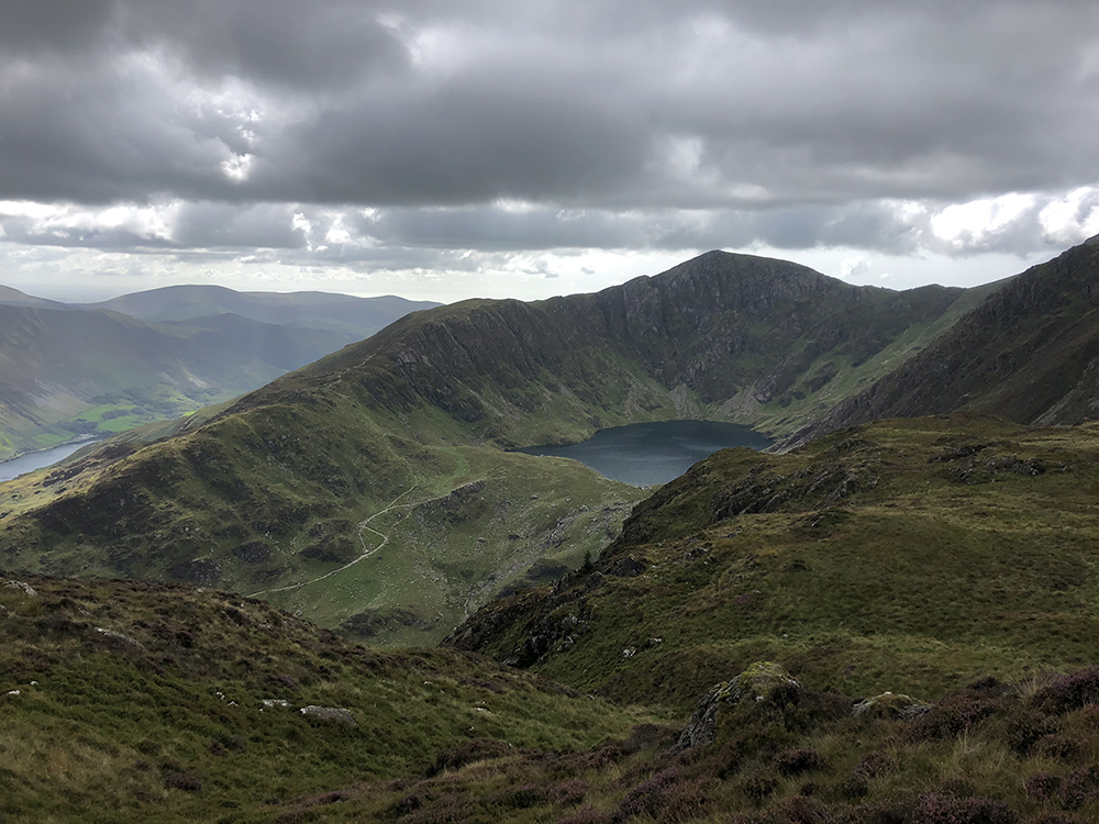THE TEAM CONQUERED CADER IDRIS IN SNOWDONIA NATIONAL PARK