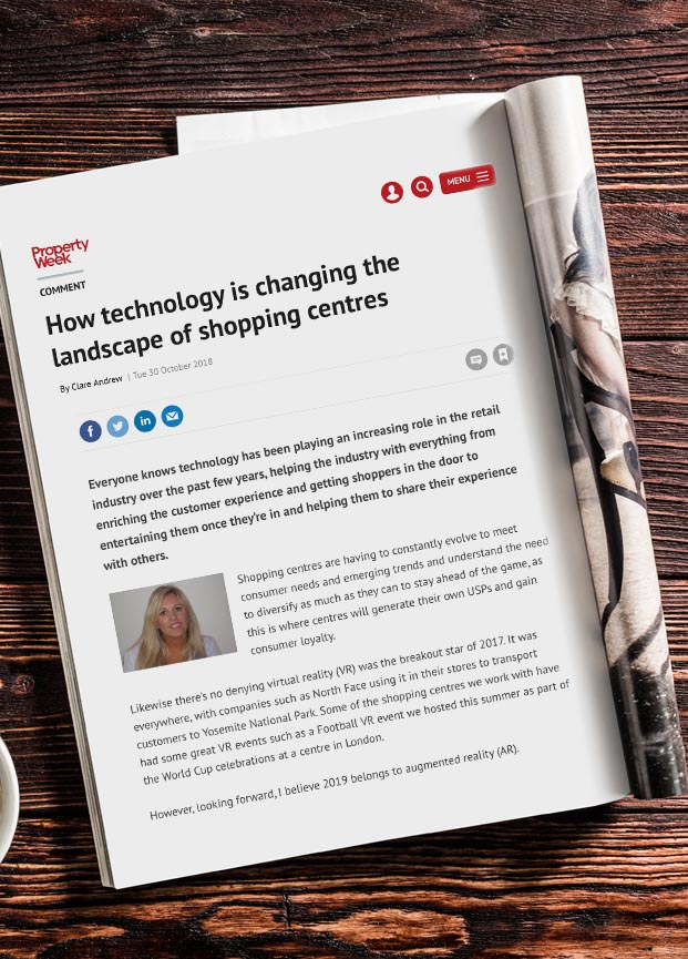 Impact Of Technology On Shopping Centres – Shoppertainment News