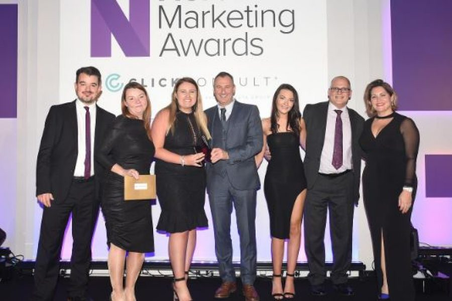WINNERS OF BEST CSR CAMPAIGN AT THE NORTHERN MARKETING AWARDS