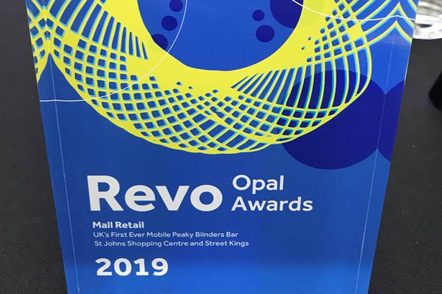 Winners of Mall Retail Revo Opal Award